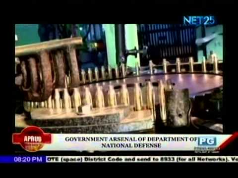 Government Arsenal feature by Net 25 Eagle News Service