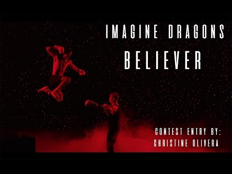 Adobe Make The Cut | Imagine Dragons - Believer | Christine Olivera | Contest Entry |