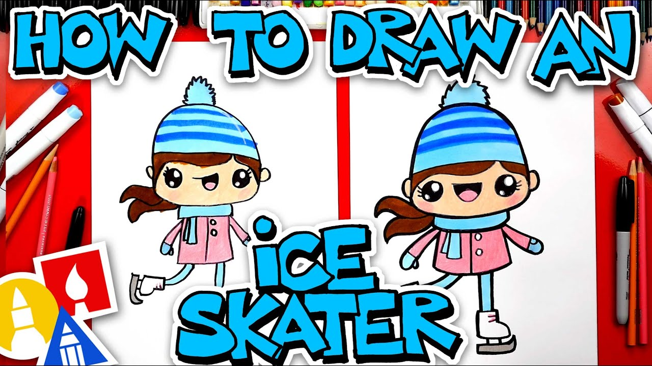 How To Draw An Ice Skater