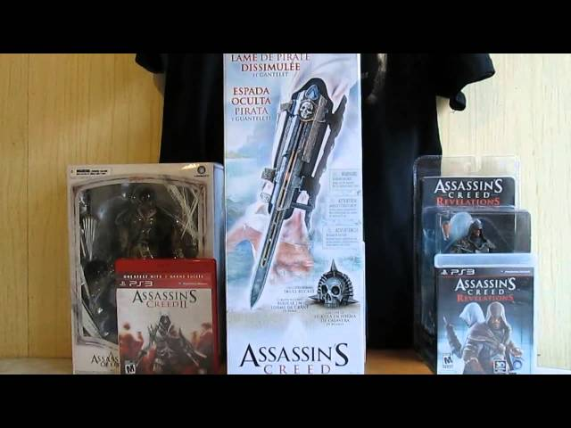 McFARLANE TOYS:ASSASSIN'S CREED PIRATE HIDDEN BLADE. Videos De Viajes
