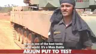 ARJUN TANK  VS  T-90 TANK , MAIN BATTLE TANK