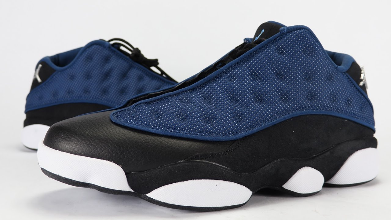 Air Jordan 13 Low Brave Blue 2017 Review On Feet