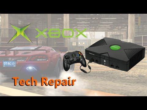 Tech Repair: Original Xbox - Overheating, Clock Cap Removal, DVD Drive Refurb