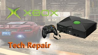 Tech Repair: Original Xbox - Overheating, Clock Cap Removal, DVD Drive Refurb