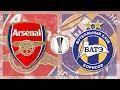 Match Day LIVE 2017/18 // Arsenal v BATE Borisov - Europa League