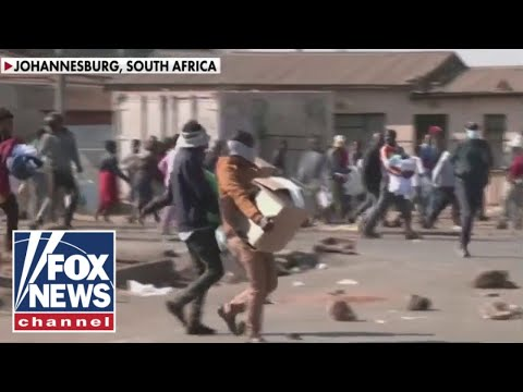 Chaos in South Africa 'intensifies' serving as a bold warning for US