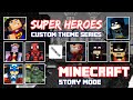 Super Heroes World - Minecraft Story Mode FULL Playthrough (Fully Customized Skin)