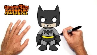 How to Draw Batman- Art for Beginners