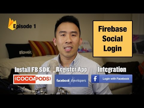 Swift 3: Firebase Social Login - Facebook Authentication and Cocoapods