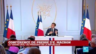 Âge légal du départ à la retraite, jour férié, temps de travail : Les précisions d'E. Macron