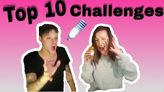 10 YouTube challenges of 2017 compilation