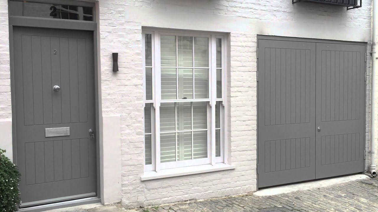 Matching Security Doors Front Entrance And Garage Doors London