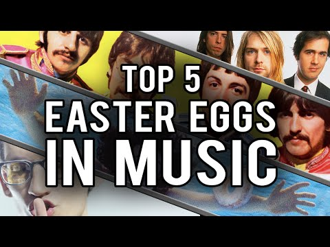 My Top 5 Easter Eggs and Secrets in Music