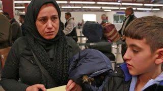 Irakische Flüchtlinge auf Heimreise: