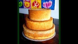 Biskuit Boden - Rezept & Tutorial - von Kuchenfee