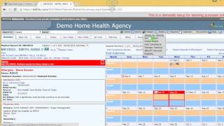 A walkthrough on finding patient in home health centre