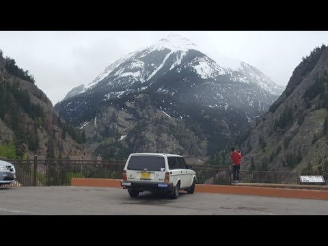 The Million Dollar Highway - US 550 Ouray to Silverton, CO