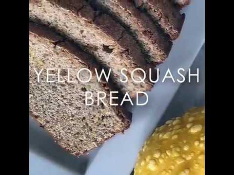 YELLOW SQUASH BREAD