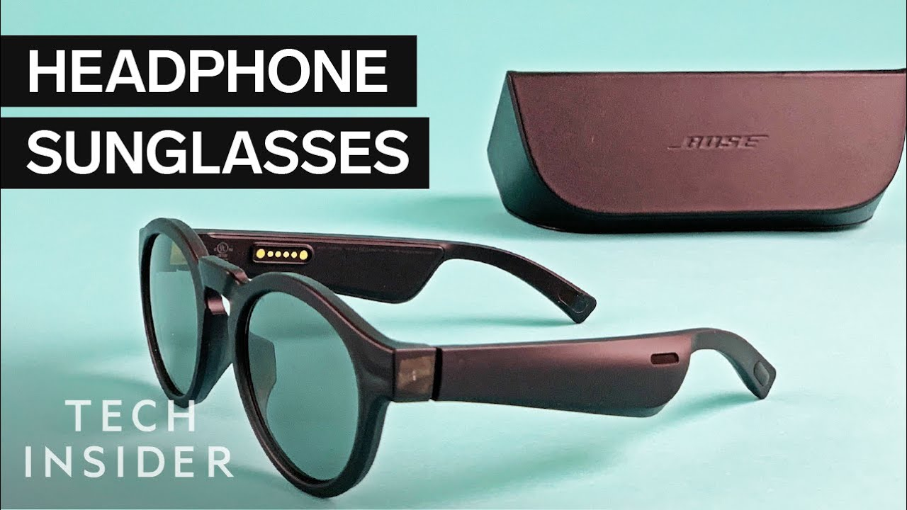 We Tried $200 Bose Headphone Sunglasses