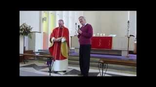St Phillip Banner Presentation to St Barnabas