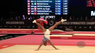 LERU Randy (CUB) - 2015 Artistic Worlds - Qualifications Floor Exercise