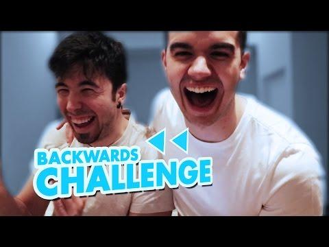 BACKWARDS CHALLENGE | Willyrex Y sTaXx