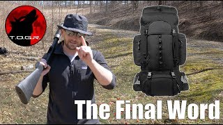 The Final Word - AmazonBasics 55L Backpack Review