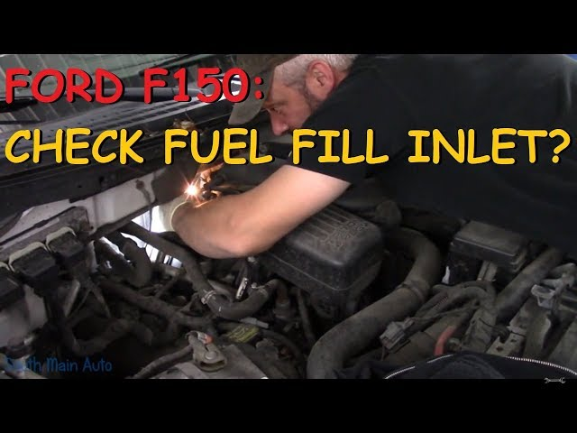 Check Fuel Fill Inlet >> Ford F150 Check Fuel Fill Inlet Message On Dash