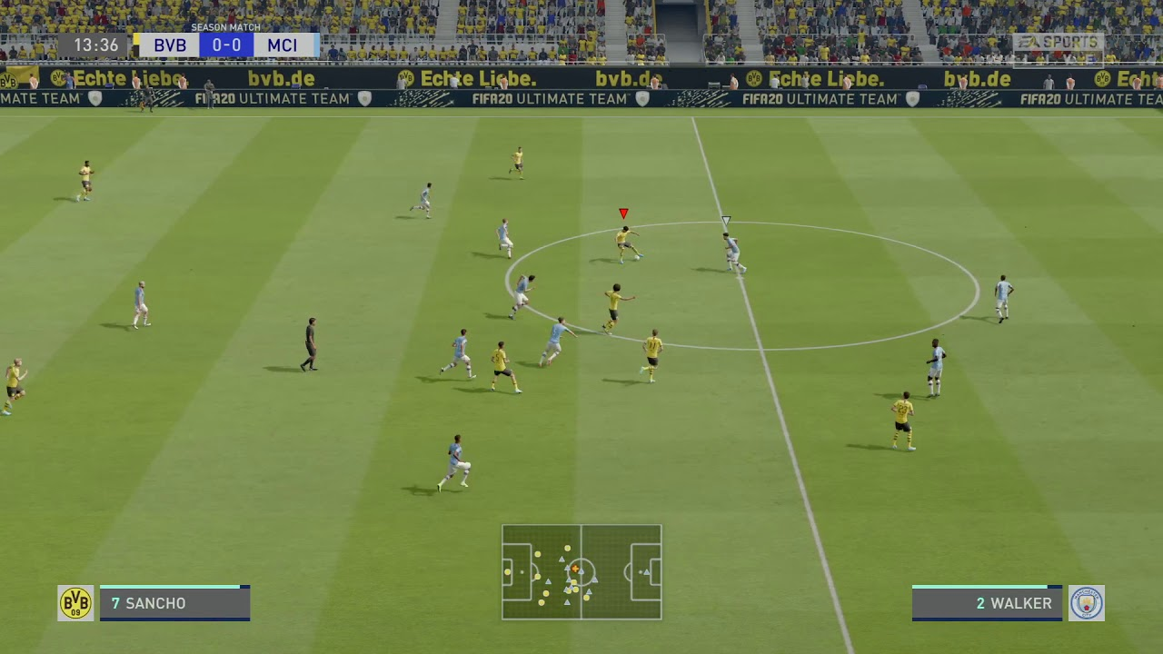 FIFA 20 Dortmund vs Man City /Marco Rues - YouTube