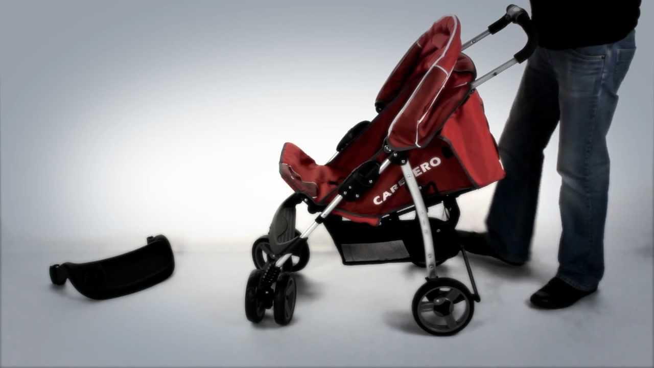 Golfový kočárek CARETERO Monaco - montáž kočárku - instruktážní video návod 76c2e58bfa