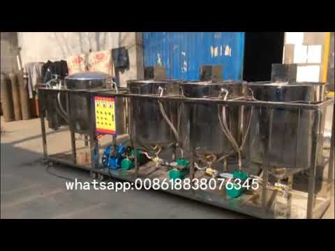 Video About The Palm Oil Refining Machine