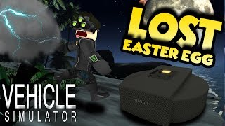 LOST EASTER EGG! NEW ISLAND IN VEHICLE SIMULATOR! - Roblox Vehicle Simulator