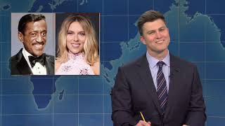 michael che trying to cancel colin jost for four minutes and forty three seconds