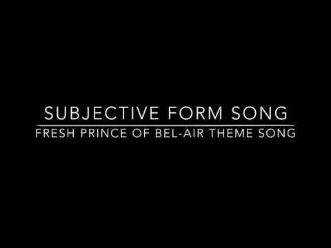 Joachim Period 2 Subjunctive Song