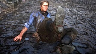 How Red Dead 2's Mud is a Gameplay Mechanic