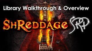 (MAS/AU/AAX)İletişim için Shreddage 2 SRP: Sanal Metal Gitar