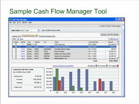Sage Peachtree Accounting Tutorial: Cash is King - Tips for Improving Cash Flow