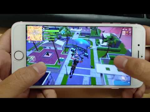 Test Game Fortnite Mobile On IPhone 7 Plus