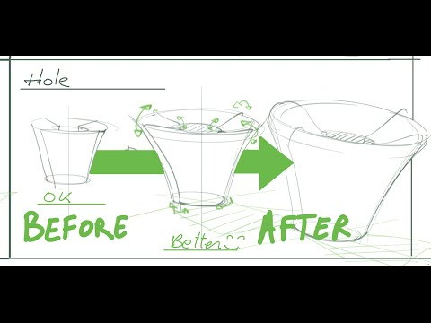 How to make your sketches more real - Industrial design sketching