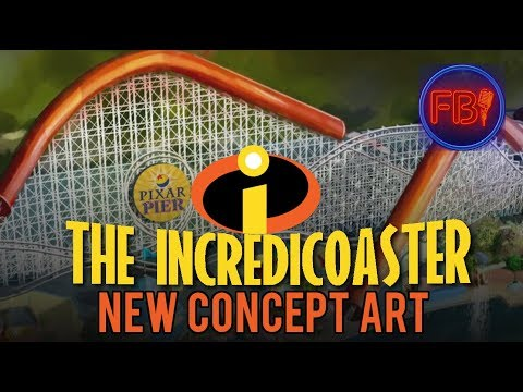 NEW Incredicoaster concept art + Behind the scenes easter eggs | Disney news 12-15-17
