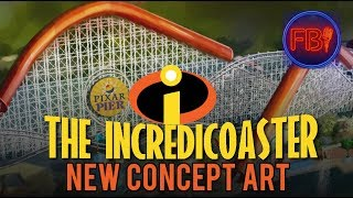 NEW Incredicoaster concept art + Behind the scenes easter eggs | Disney news 12-15-17 thumbnail