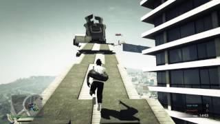Parkour With JordanVGaming | Trolling | GTA V Gameplay (PS4)