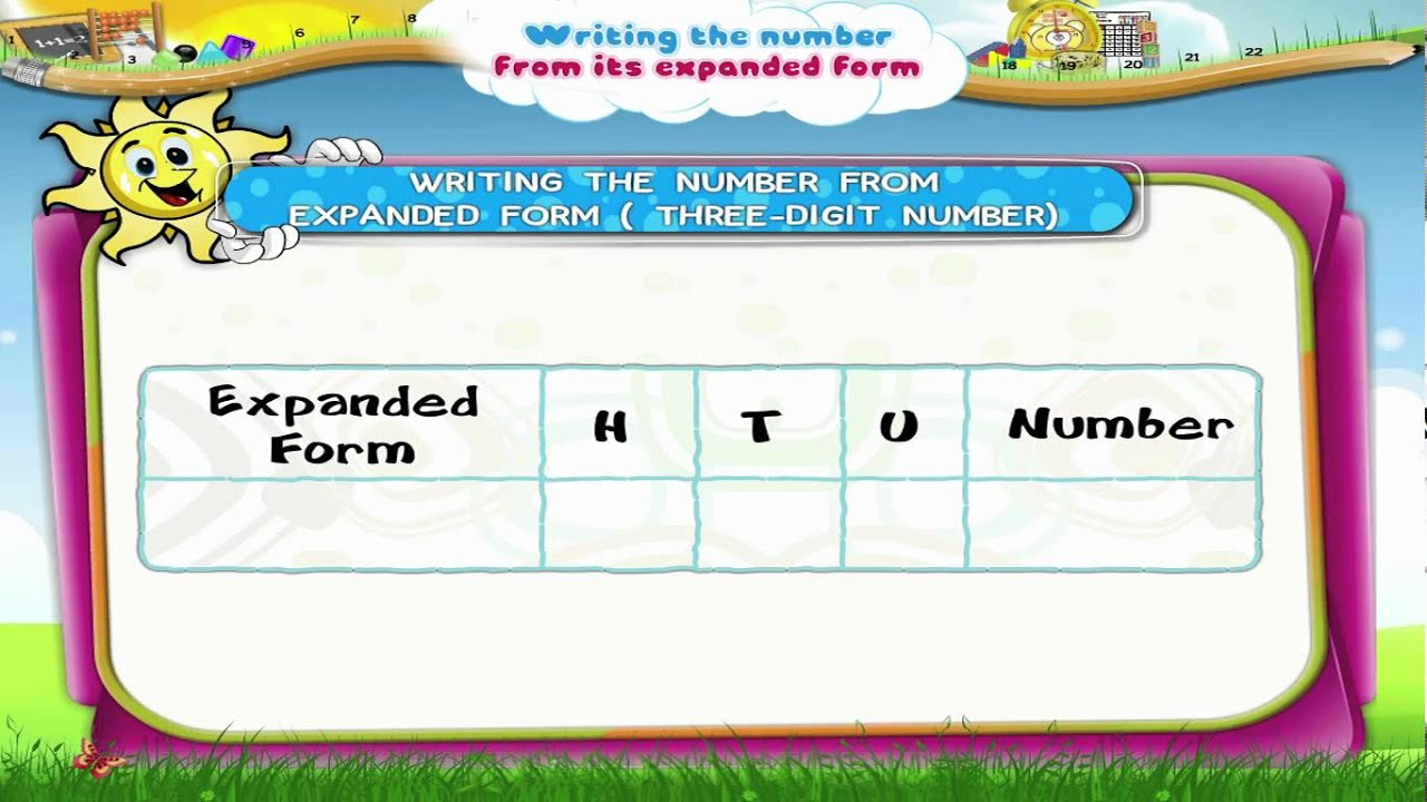 Learn grade 3 maths writing the number from its expanded form learn grade 3 maths writing the number from its expanded form youtube falaconquin