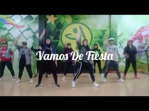 Vamos De Fiesta || Zumba || Hazar JLStudio Sangasanga