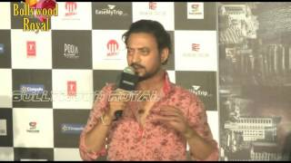 Irrfan Khan, Nishikant Kamat At Song Launch 'Dama Dam' From 'Madaari' Part  1