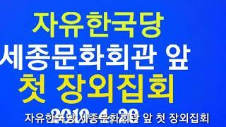 ■ 자유한국당 첫 장외집회 밎 애국당 광화문 시가행진 영상.