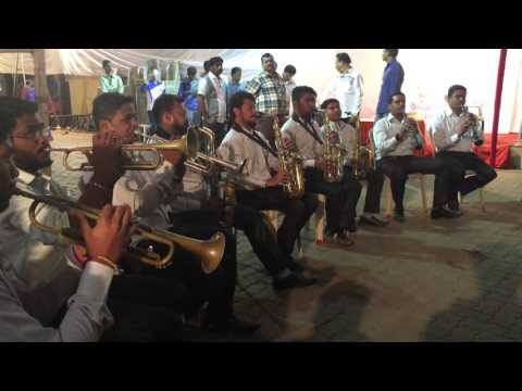 gajanana shree ganaraya song Ashtavinayak brass band & banjo Mahim mori road
