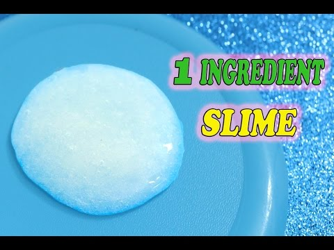 Real 1 ingredient Slime,only Shampoo,Easy Slime Recipe, No Glue,No Borax,No Eye Drops,No Corn Starch