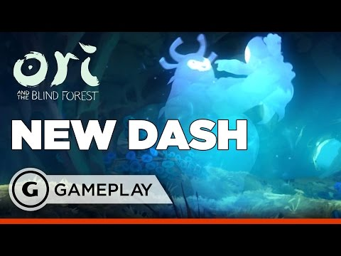 Black Root Burrows and Dash - Ori and the Blind Forest Gameplay