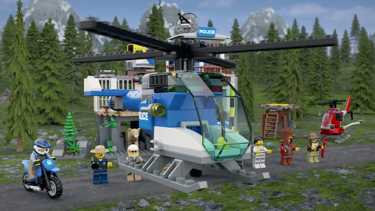 Lego City Mountain Police Headquarters 60174 Youtube